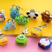 harga Gembok Tas Minion Monster Inc Toy Story Panda Gajah  ( T49 ) Tokopedia.com