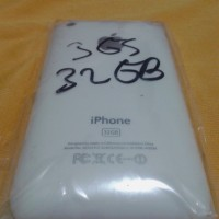 Casing Fullset Iphone 3GS 32gb Warna Hitam Putih Non Touchscreen