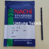 harga Mata Bor Besi 3mm Nachi HSS Tokopedia.com