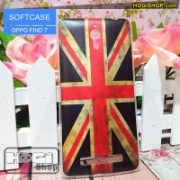 Oppo Find 7 - Softcase Custom Case London