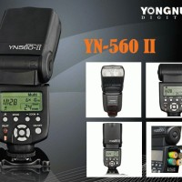 Yongnuo YN-560 II Speedlight - Flash for Canon, Nikon, Pentax, Olympus