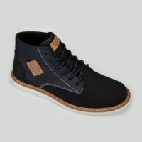 harga Sepatu Tomkins Rover Man Black Denim Tokopedia.com
