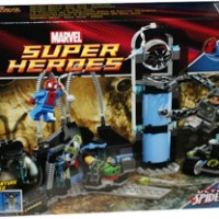 Spiderman's Doc Ock Ambush lego Super Heroes Spiderman Octopus