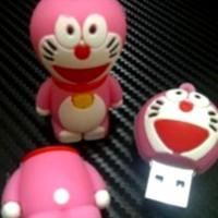 Jual 2187 USB FLASHDISK UNIK BONEKA KARAKTER LUCU DORAEMON PINK - BUS0128 - Murah