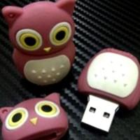 2284 USB FLASHDISK UNIK BONEKA KARAKTER LUCU OWL - BUS0254 - 8GB