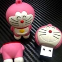 Jual 2181 USB FLASHDISK UNIK BONEKA KARAKTER LUCU DORAEMON PINK - BUS0127 - Murah