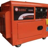 OSERU GENERATOR SET 7700XE SILENT, 5500 WATT, ELECTRIC STARTER GENSET