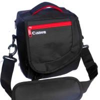 Tas kamera murah / camera bag kode K CANON free raincoat