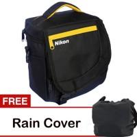 Tas kamera murah / camera bag kode K NIKON free raincoat