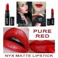 NYX MATTE LIPSTICK - PURE RED