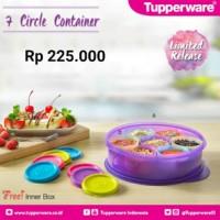 7 Circle Container Tupperware