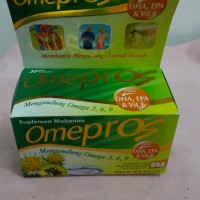 harga Omepros Isi 30 Soft Capsules Tokopedia.com