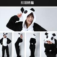 Pajamas / Piyama Jumpsuit Dewasa Plush Panda