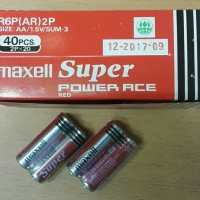 battery maxell super power ace