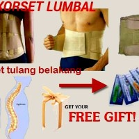 Jual korset LBP (low back pain) tulang belakang Murah