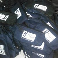 Tempat Pensil Jeans sablon 1 warna Pre-Order