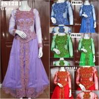 harga Baju Pesta Kebaya Modern FS1281 Tokopedia.com