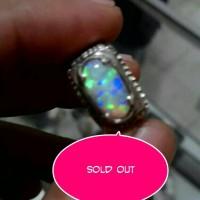 harga cincin perak batu kalimaya asli banten kembang langka full jarong Tokopedia.com