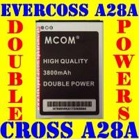 Baterai Evercoss A28A Double Power M COM