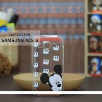 Casing HP Custom Hardclear Samsung Ace 3 Mickey