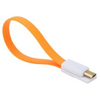 Kabel Xiaomimi Magnetic Micro USB to USB Cable for Smartphone Orange