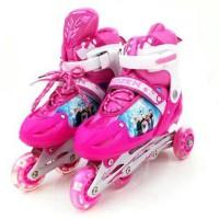 Sepatu Roda Frozen Anak / Inline Skate Frozen 7211