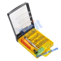 Obeng 32 In 1 Screw Driver Repair Tool Set Kit For PC Mobile PSP XBOX