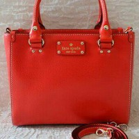 KATE SPADE Wellesley Small Quinn WKRU2723 (Lacquere Red)
