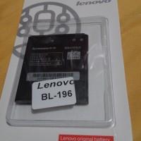 Baterai Lenovo 2500mah Bl196 Bl-196 For P700 P700i Original Oem