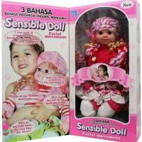 harga Boneka 3 Bahasa Sensible Doll (besar) Tokopedia.com