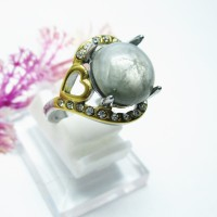 harga Cincin Titanium Batu Safir Birma Wanita Tokopedia.com