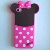 harga Iphone 5 5s Minnie Mouse Disney Rubber Silicone Case Casing Cover Pink Tokopedia.com