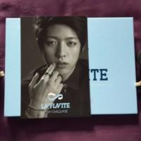 Kpop Infinite album New Challenge (Man In Love) + Sungyeol Photocard