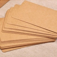 Blank Kraft Paper Card Set| Hang Tag | Tag Polos