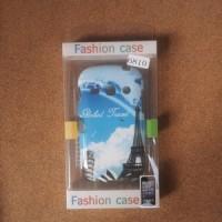 SOFTCASE FASHION SAMSUNG GALAXY FAME 6810 - PARIS BLUE