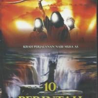 DVD VCD Original 10 Perintah - Kisah Perjalanan Nabi MUSA AS