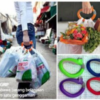 One Trip Grip Shoping Bag Holder Praktis Satu Pegangan Semua Tas Belanja shopping bag bawa belanjaan pasar mall toko angkut tool