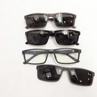 Kacamata Frame Rayban Clip On 2345