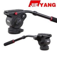 harga Jieyang Jy0506 Pro Video Camera Action Fluid Drag Tripod Head Tokopedia.com