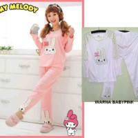 STML4 - Setelan Korean Pyjamas Bunny My Melody