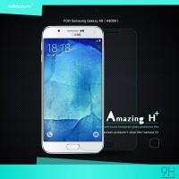 Tempered Glass Samsung Galaxy A8 Nillkin Amazing H+ 9h Rounded Edge