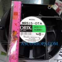 Kipas Fan panel ORIX AC 220V 15X17 CM ( 15 X 17 ) Oval Ball Bearing