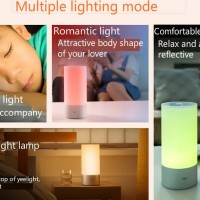 Jual Xiaomi Yeelight Indoor Night Light Dimmable Bed Lamp16 Million RGB Murah