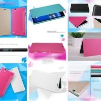 harga Nillkin Sparkle Leather Case Sony Xperia C4 - C4 Dual Tokopedia.com