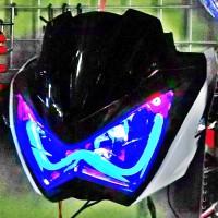 harga Lampu Z250 Drl Led Modif New Vixion/byson/cb150r/tiger/fu 150/scorpio Tokopedia.com