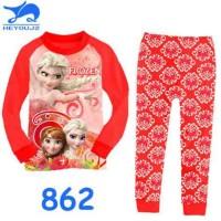 Piyama 3d Design Frozen Red.type : 862