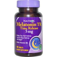 Natrol Melatonin TR Time Release 5 mg - 100 Tablets