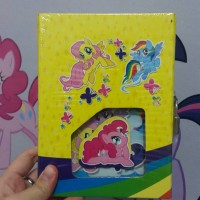 buku diary my little pony mlp kecil