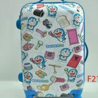harga Tas Koper Fiber 20 Inch 4 Roda Doraemon High Quality Tokopedia.com