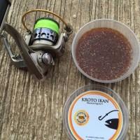 Kroto Ikan, Campuran Umpan Pancing dari Telur Ikan Pelagis